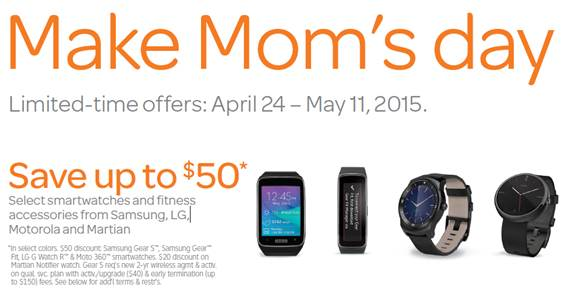 AT&T Mom's Day Sale