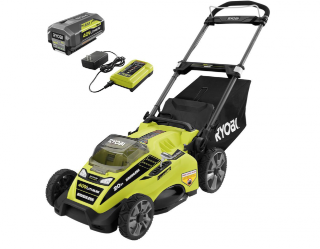 Ryobi electric lawn moer